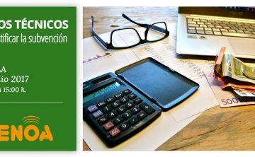 Curso: Imputación y justificación de costes de las subvenciones de formación de desempleados en Andalucía