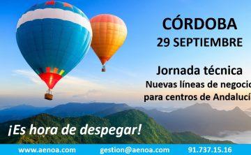 Nuevas líneas de Negocio para centros de formación. Córdoba, 29 septiembre.