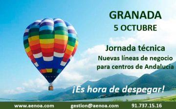 Nuevas líneas de Negocio para centros de formación. Granada, 5 Octubre.