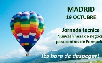 Nuevas Líneas de Negocio para Centros de Formación. Madrid, 19 Octubre