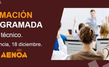 Curso Técnico. Gestión de la Formación Bonificada. Valencia, 18 diciembre